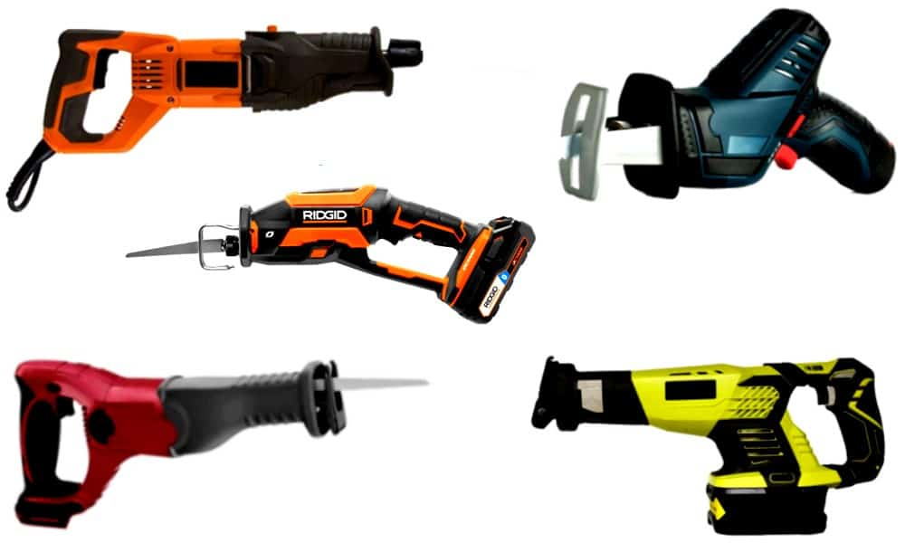 Different Types of Reciprocating Saws (With Pictures)