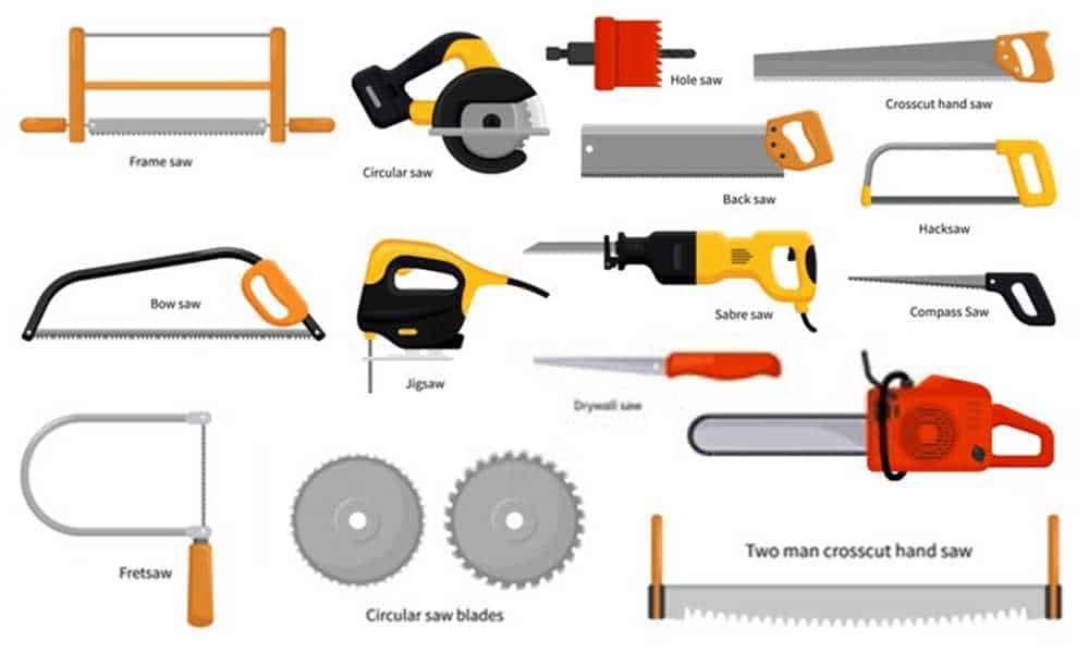 Different Types of Saws and Their Uses (with pictures)