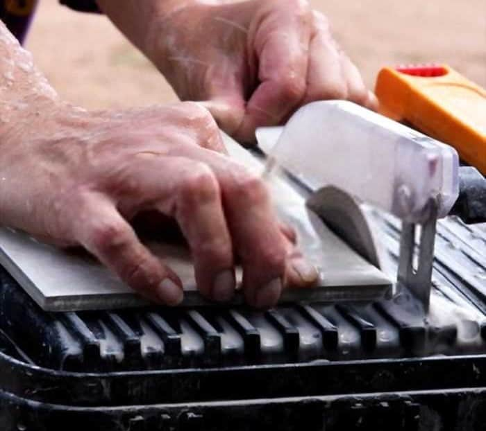How To Cut Glass Mosaic Tile With A Wet Saw