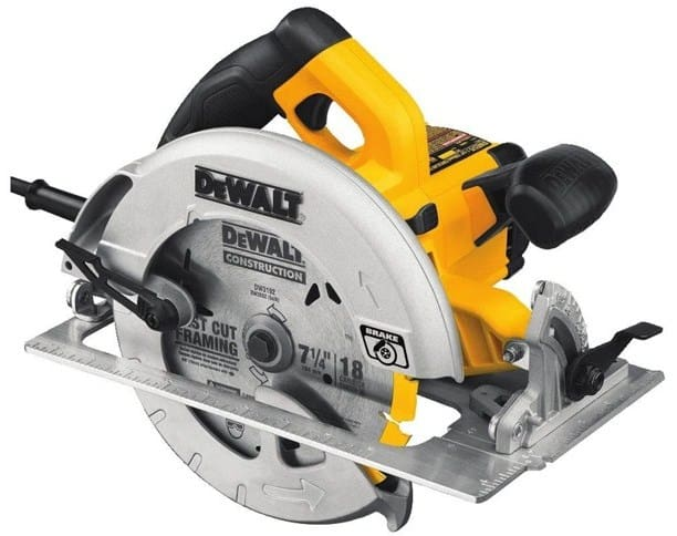 DEWALT DWE575SB 7-1 4-inch Lightweight Circular Saw With Electric Brake