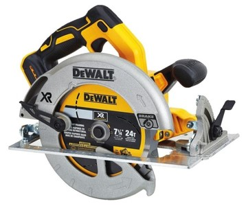 Dewalt dcs570b brushless 7-14 20v cordless circular saw with brake