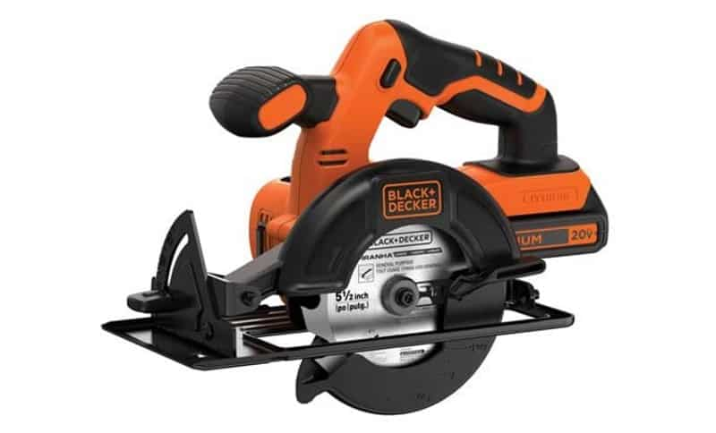 Black+Decker bdccs20c 20v max cordless circular saw
