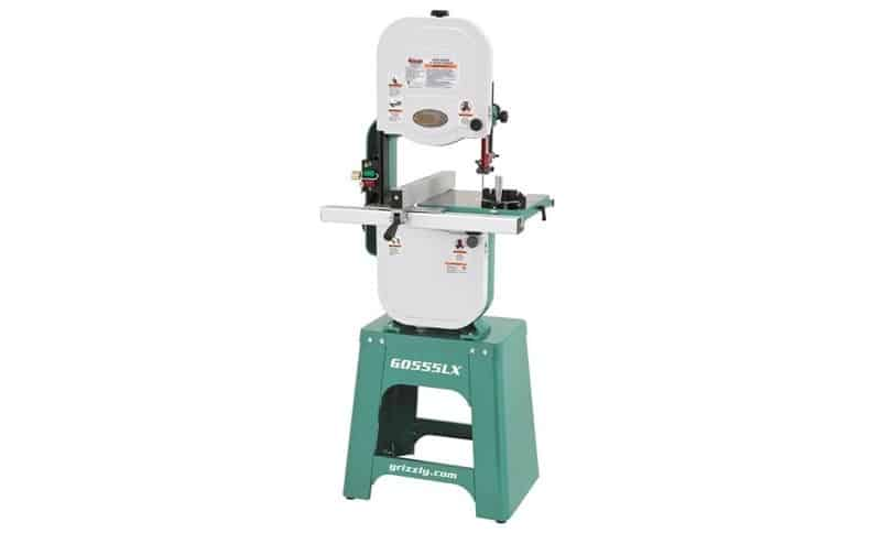 Grizzly G0555LX Deluxe Benchtop Bandsaw