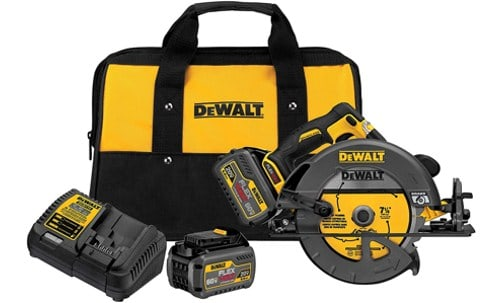 Dewalt Dcs575t2 60v Max Flexvolt 7-1 4 Brushless Circular Saw Kit