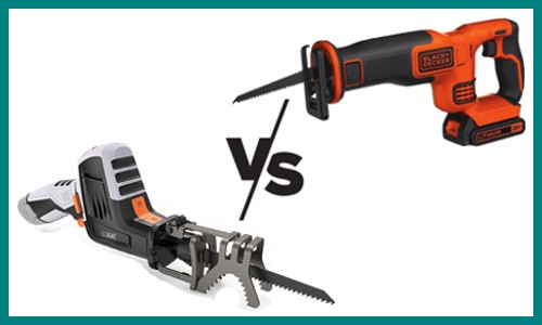 Sawzall vs Reciprocating Saw – What's the Difference?
