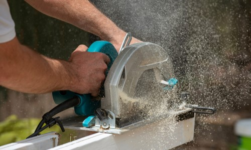 Cutting Thick Wood with A Circular Saw