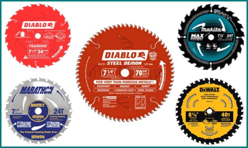 Different Types of Circular Saw Blades