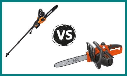 Pole Saw Vs. Chainsaw – What's the Difference?