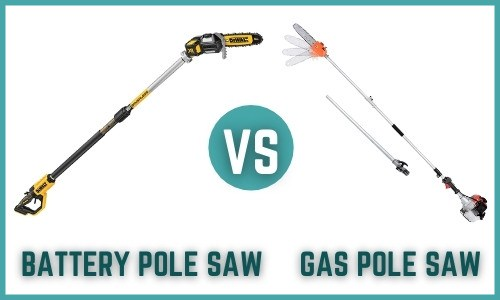 Gas Vs Battery Pole Saw – Which One is Perfect for You?
