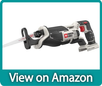 PORTER-CABLE PCC670B 20V MAX Battery Powered Reciprocating Saw