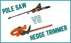 Pole Saw Vs Hedge Trimmer – What's the Difference?