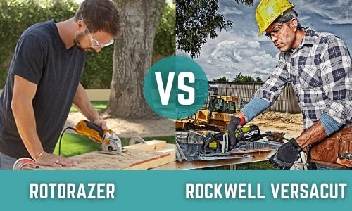 Rotorazer Vs Rockwell VersaCut: Which Compact Saw Is Best?